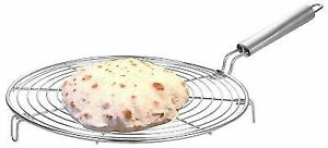 Roasting-Net-Stainless-Steel-Wire-Roaster-Chapati-Grill-Roti-Grill-Fast-SHIP