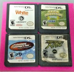 Sega-Tennis-Snowboard-Fishing-Need-For-Speed-Nintendo-DS-Lite-2ds-3ds-Game-Lot