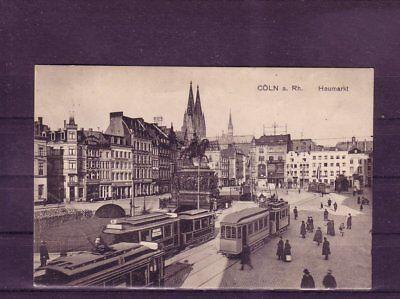 Deutschland europa:11442 UnermüDlich Nicht Frankierte Ansichtskarte Köln Heumarkt Ansichtskarten