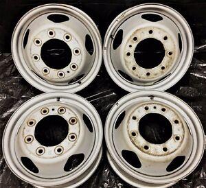 "17"" Chevrolet GMC Wheels Rims Silverado Sierra 3500 OEM steel dually Factory | eBay"