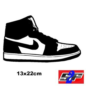 Nike Autocollant Sticker Adhésif Murale Placard Chaussure Decoration 4xzqw5O