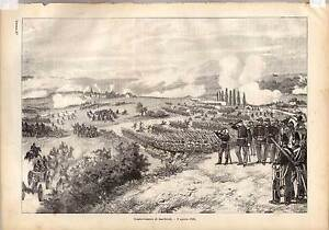 Saarbruecken-Militaria-Lithographie-1870
