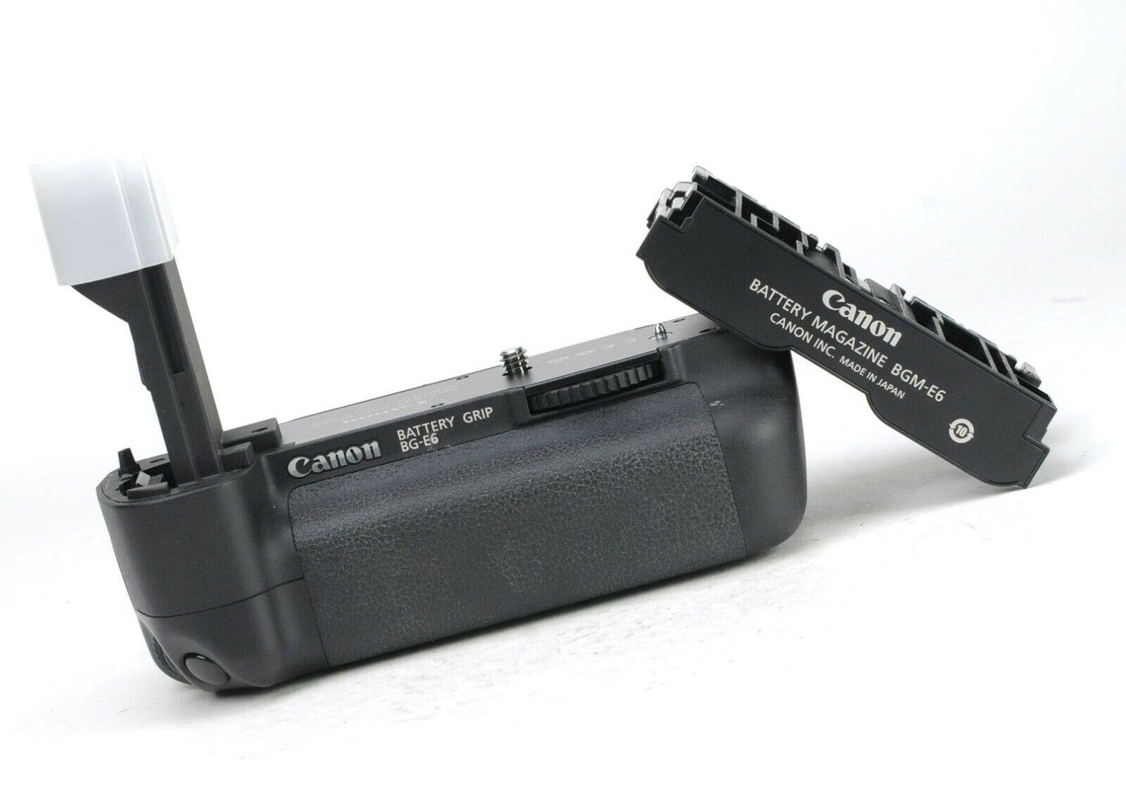 Canon BG-E6 Battery Grip for Canon EOS 5D II LP-E6 Battery - Full working Order