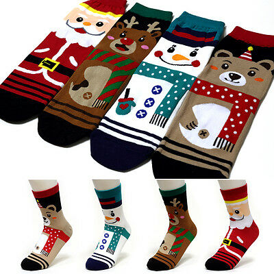 Ladies Womens Novelty Christmas Socks Snowflake Design Available in Pairs UK 4-6