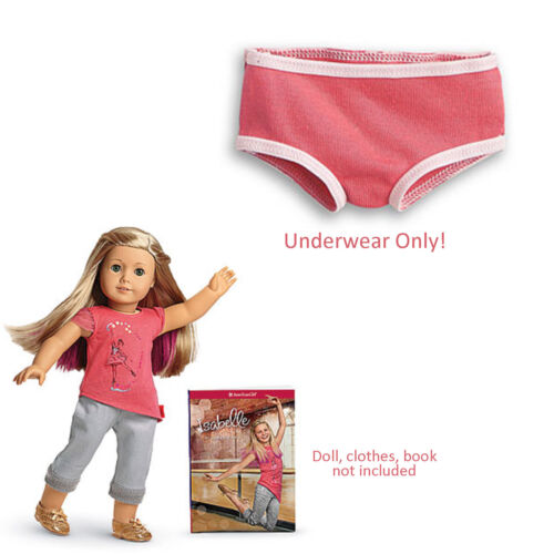 """American Girl LE ISABELLE DOLL MEET UNDERWEAR ONLY 1 PC for 18/"""" Dolls NEW"""