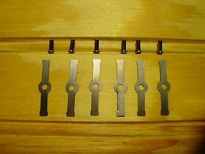 LIONEL 6 480-38 Armature Springs /& 6 480-19 Rivets  Free Shipping
