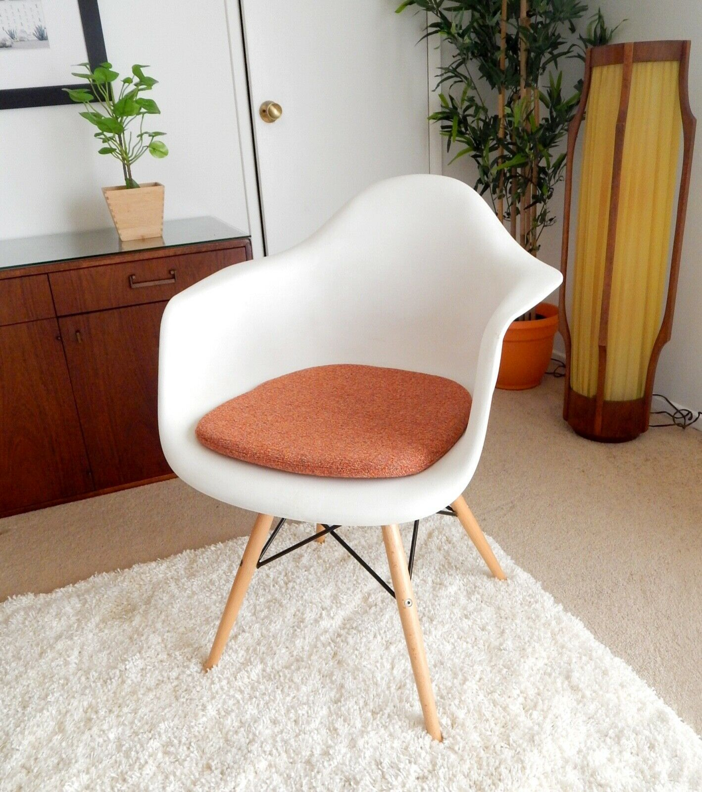 Cushion for Eames Molded Plastic Arm Chair - Mid Century Herman Miller