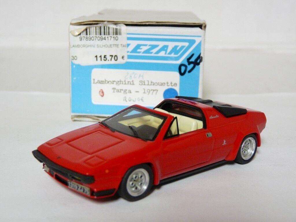 Alezan 247 1 43 1977 Lamborghini Silhouette Targa résine fait main modèle voiture