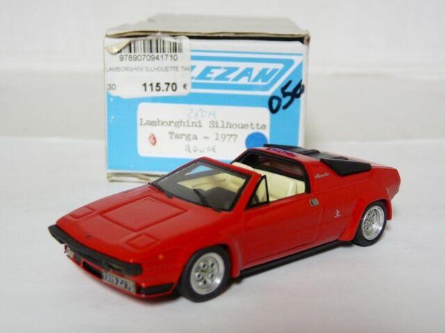 Alezan 247 1/43 1977 Lamborghini Silhouette Targa Resin Handmade Model Car