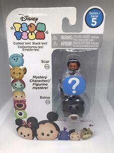 Disney-Tsum-Tsum-Series-5-Baloo-512-Scar-525-Mystery-Character-3-Pack-Vinyl