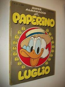 SUPER-ALMANACCO-PAPERINO-N-61-SECONDA-SERIE-WALT-DISNEY-LUGLIO-1985-BUONISSIMO
