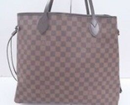 7625d9001f0e Image is loading Louis-Vuitton-Neverfull-Gm-Damier-Ebene-Canvas
