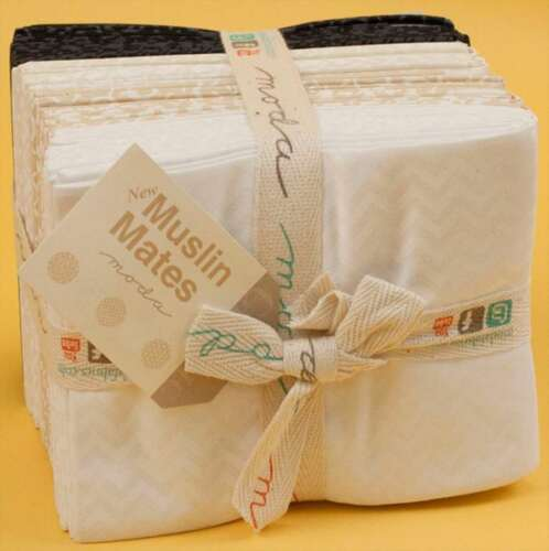 Moda MUSLIN MATES 28 Quilt Fat Quarter Bundle 9970AB