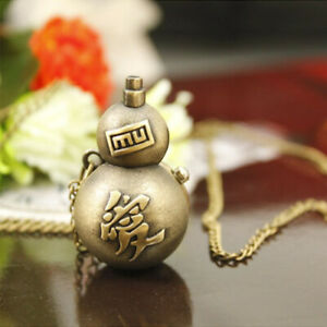 Anime-Naruto-Vintage-Gaara-Weapon-Pocket-Watch-Necklace-Pendant-Cosplay-Toy-Gift