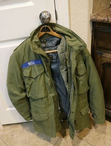 Vintage Liner Mans & Military Style Flight double