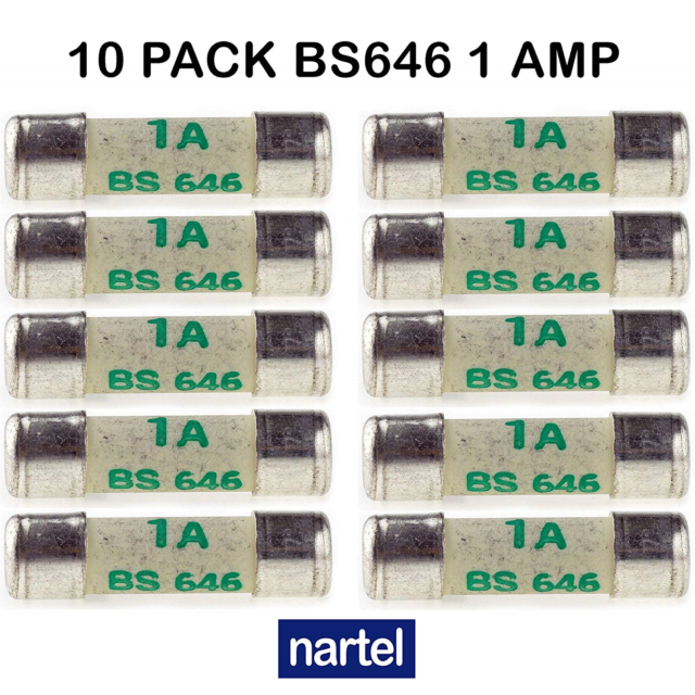 Fuse Holders PACK OF 10PK 3A AMP GLASS FUSES FUSE CAR AUTO VAN BOAT MARINE 29 x 6mm Fuses