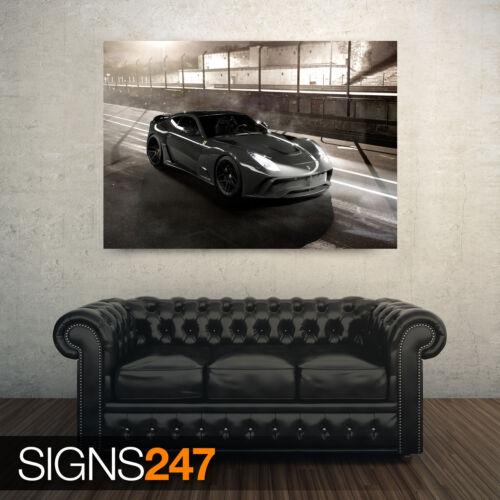 9200 NOVITEC ROSSO FERRARI F12 N Photo Picture Poster Print Art A0 A1 A2 A3 A4