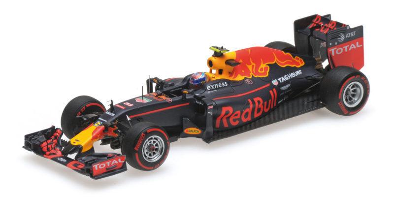 rouge Bull Rb12 Max Verstappen 3rd Place German GP 2016 F1 Formula 1 1 43 Model