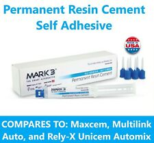 Mark3 Permanent Resin Cement Self Adhesive 7 Ml Automix Syringe With 6 Tips