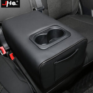 Rear Row Pillow Water Cup Holder Central Armrest Box For Ford Explorer 2011-2019