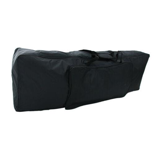 Tragbare 88 Tasten Tastatur E Piano gepolsterte Tasche Gig Bag Big Case schwarz