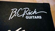 B. C. ricchi Chitarre Decalcomania Logo AUTOADESIVO PER CHITARRA CASE RIGIDO, AMP CABINA, Wall Art,