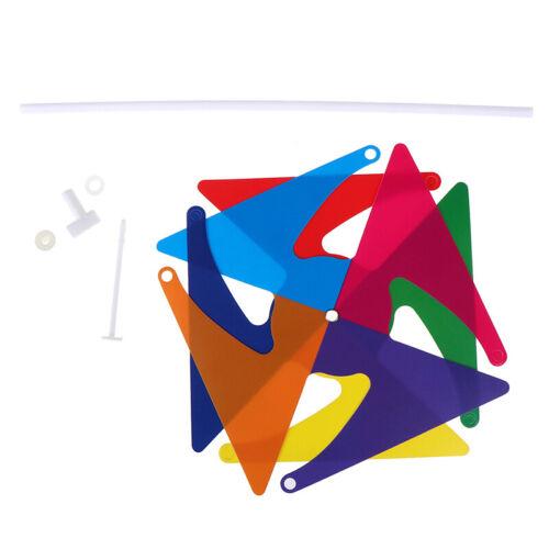 Lovely handmade windmill garden party outdoor wind spinner ornament kids toys MC