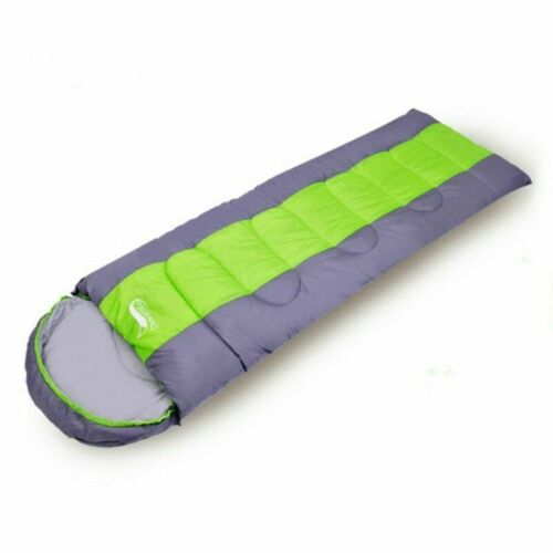 4 Season Ultralight Envelope Sleeping Bag Outdoor Hiking Travel Carry Bags Home