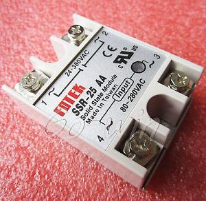 1pcs-24V-380V-25A-SSR-25AA-Solid-State-Relay-Module-80-250VAC-AC-AC