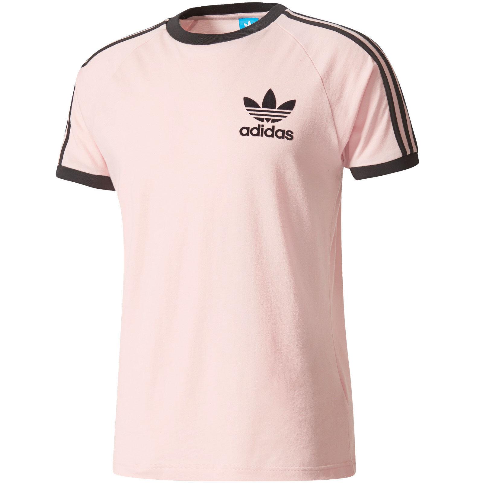 Мужская футболка Футболка с тремя полосками adidas Originals, Калифорния, футболка Herren, футболка Oberteil Kurzarm