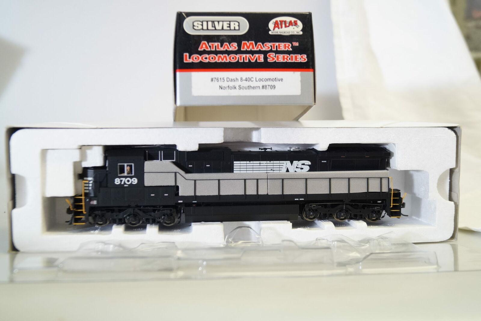 H0  atlas 7615 us-diesellok Dash 8-40c Norfolk Southern  8709, artículo nuevo embalaje original DCC...