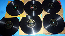 "Benson Orchestra 6X10"" 78 rpm Lot MY SUNNY TENNESSEE, OH GEE, OH GOSH"