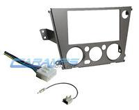 2005-2009 Subaru Car Stereo Radio Dash Installation Trim Kit With Wiring Harness on sale