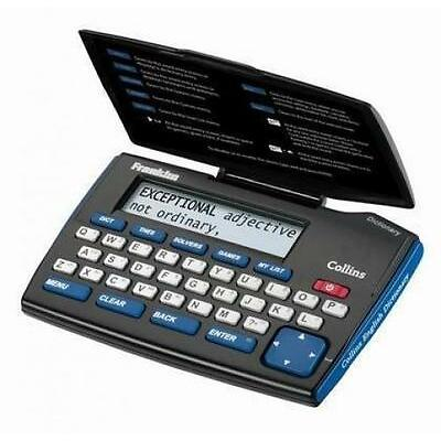 Franklin DMQ221 Electronic Dictionary English Express Edition Thesaurus Battery
