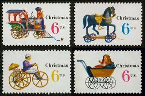 #1418-1418 6c Navidad: Juguetes, Individuales, Nuevo Cualquier 5=