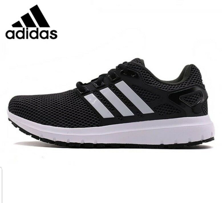 31eeeddc550c Adidas Mens ENERGY CLOUD M M M Running shoes BLACK Size 10 BY1924 NEW  Without BOX f84348