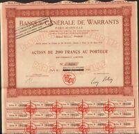 Banque Générale De Warrants (marseille) (h)