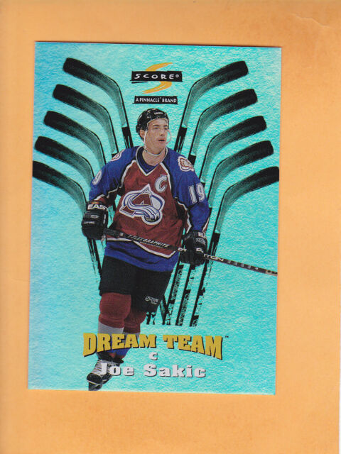 1996 97 SCORE DREAM TEAM #3 JOE SAKIC COLORADO AVALANCHE