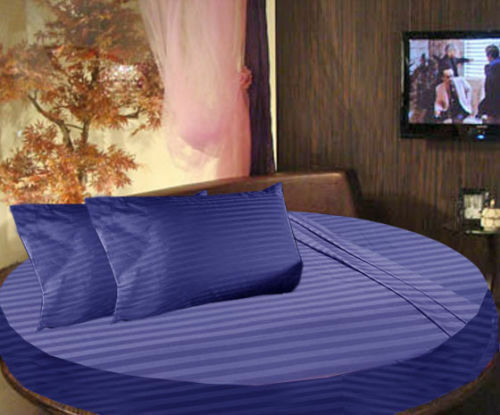 1000 TC Super Egyptian Cotton All Round Bedding Items All Sizes Stripe Colors