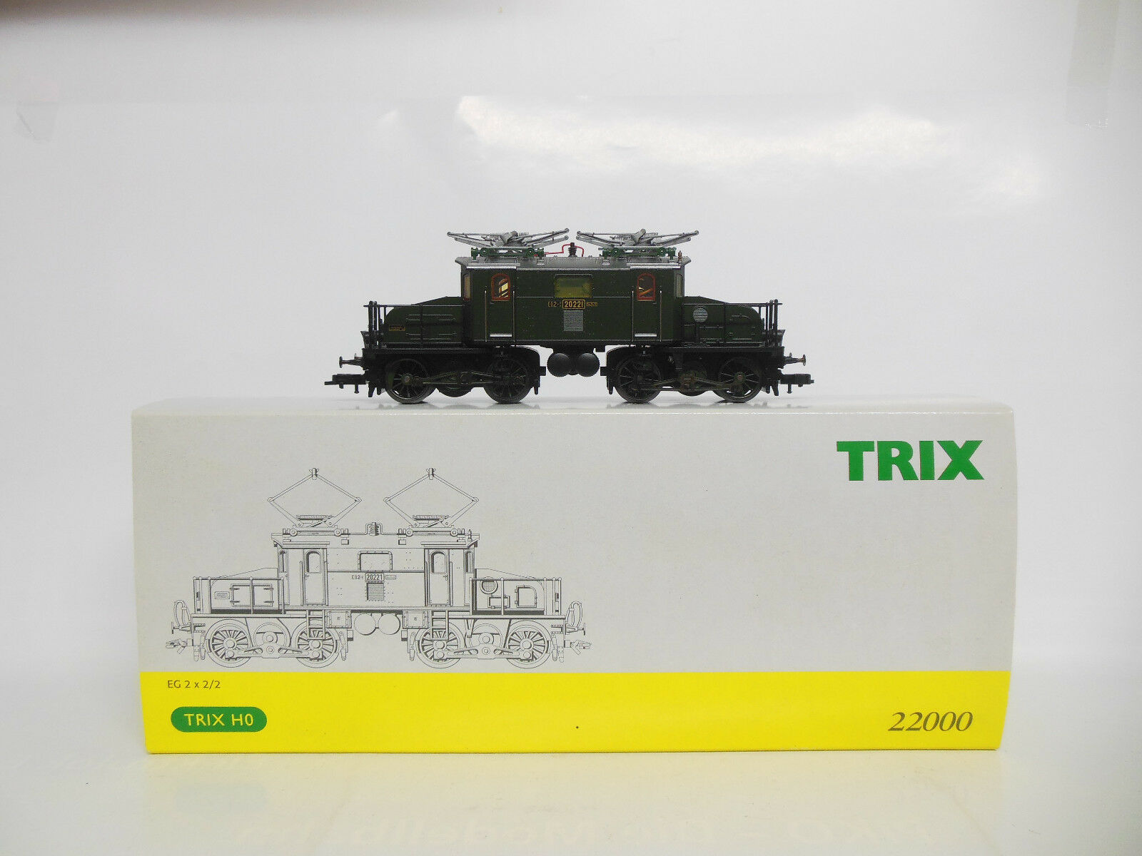 Trix 22000 - BR EG 2x2 2 K.Bay.Sts.B. - - - ESU Lokpilot V2.0 - OVP - SONDERPREIS  | Auktion  72ca61