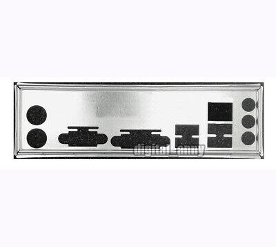 I//O Shield For Gigabyte GA-H55M-S2H /& GA-EG45M-UD2H /& GA-H55M-D2H Backplate IO