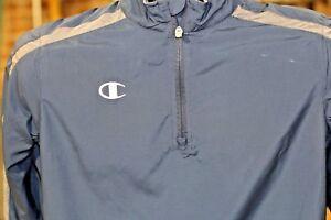 726eb8b20b34 Champion Boy s Youth Blue-N-Grey Zip Jacket Light Weight Athletic ...