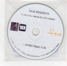 (GI328) Nile Rodgers, Do What You Wanna Do - 2014 DJ CD