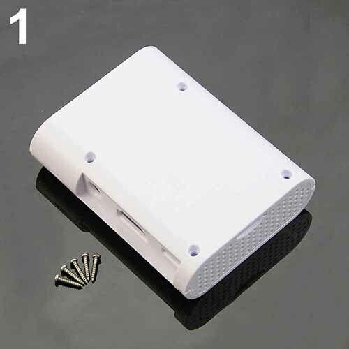 ABS Protective Plastic Case Box Enclosure for Raspberry Pi 3 Pi 2 Model B Screws