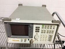 Hp Hewlett Packard 8591a Spectrum Analyzer 9 Khz 18ghz Op 21 Powers On For Part