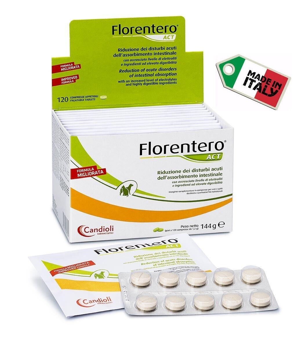 Florentero Act compresse Nuova Formula con Lactobacillus Acidophilus 1cpr x 10kg