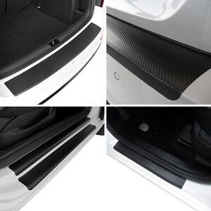 Rear-Bumper-Door-Sill-Protectors-of-Carbon-Film-for-Seat-Ibiza-6J5-6P1