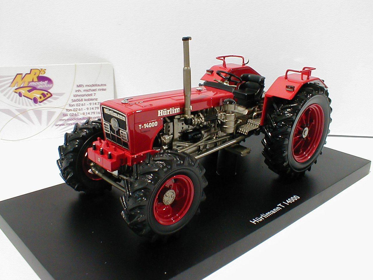Schuco  Pro. R 09016-HürlihomHommes t-14000 Tracteur Année 1976  Rouge  1 32 NEUF  authentique en ligne