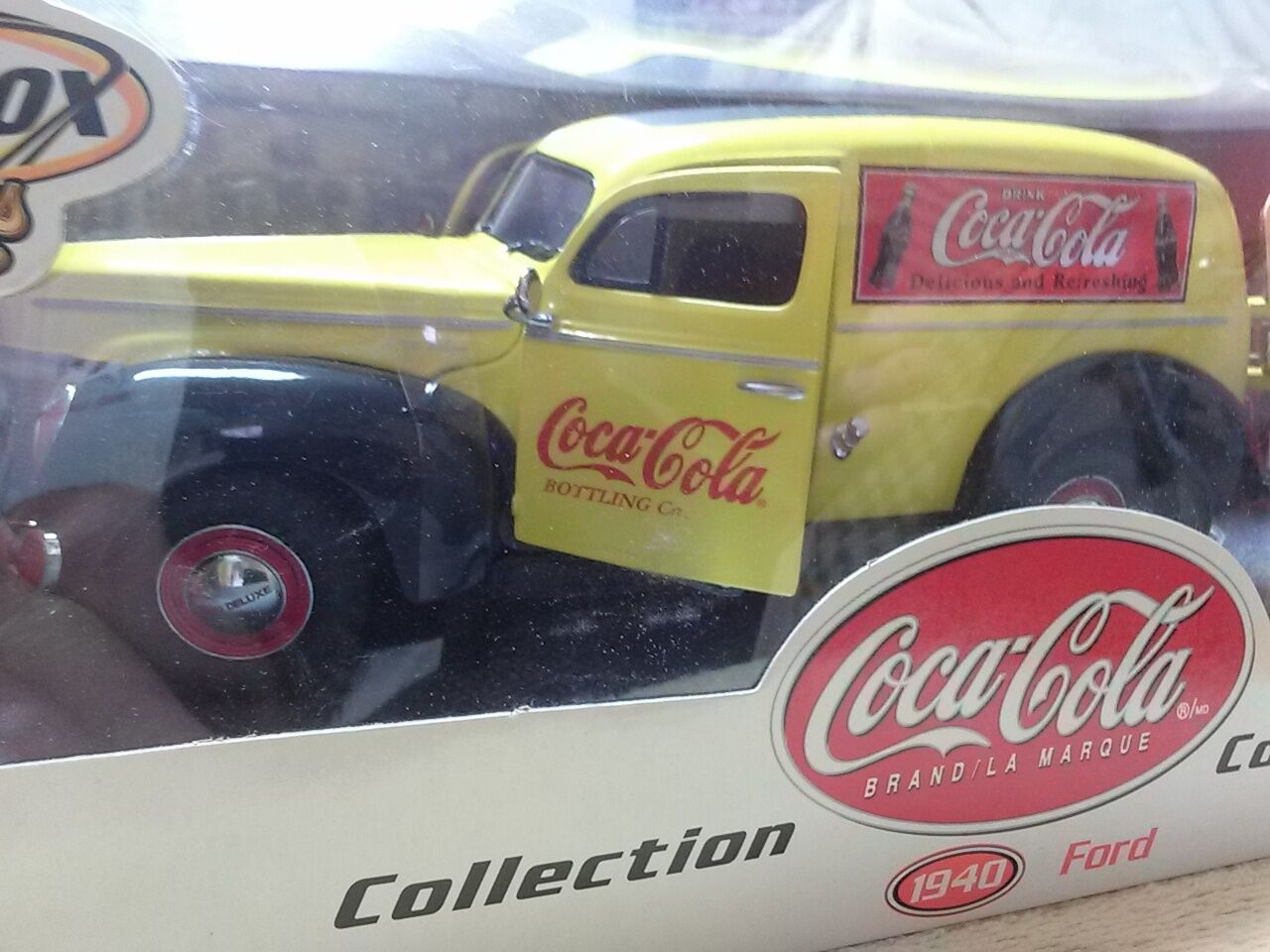 Diecast 1940 Ford sedan delivery  Coca-Cola