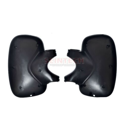 Renault Trafic Wing Mirror Covers LEFT AND RIGHT PAIR Black 2001/>2014 UK seller